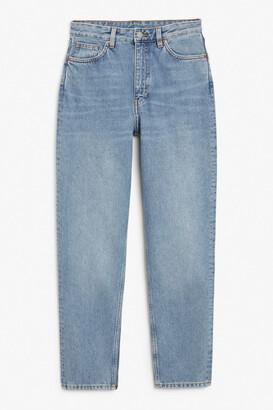 Monki Taiki blue x-long jeans