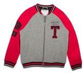 True Religion Boy's Baseball Collar Letterman Jacket