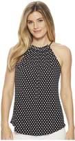 MICHAEL Michael Kors Simple Dot Jersey Tank Top Women's Sleeveless