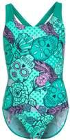 Speedo ALLOVER SPLASHBACK Swimsuit jade/spearmint/amethyst