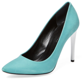 Proenza Schouler Nubuck Pointed-Toe Pump