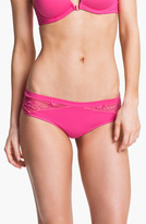 OnGossamer 'Luxe' Lace & Microfiber Thong