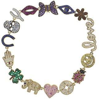 Sydney Evan 15th Anniversary Multicolor Bracelet