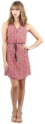 M&Co Izabel floral zip front tea dress