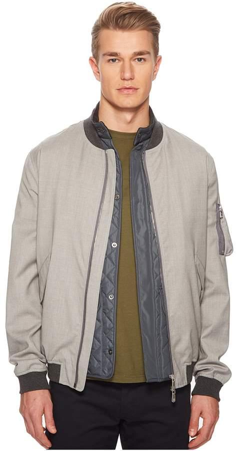 Eleventy Storm System Wool Bomber Men's Clothing