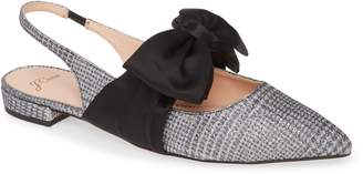 J.Crew Gwen Slingback Flat with Bow
