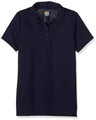 Fruit of the Loom Women's Performance Polo Shirt,14 (Manufacturer Size:Large)