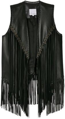 Nk leather Fabiana vest
