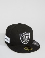 New Era 59Fifty Cap Fitted Oakland Raiders Side Logo
