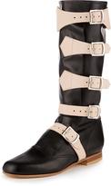 Vivienne Westwood Black Pirate Boots Size 3