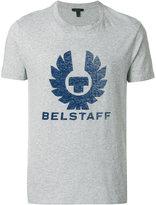Belstaff logo print T-shirt - men - Cotton - XS