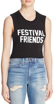 Private Party Festival Friends Crop Tank