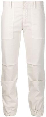 Nili Lotan Elasticated Cropped Trousers