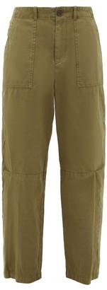 Sea Adalene Cotton Trousers - Khaki