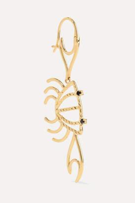 Yvonne Léon 9-karat Gold Diamond Earring - one size
