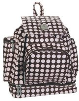 Kalencom Heavenly Dots Diaper Backpack Chocolate/Pink by