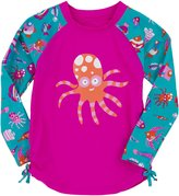 Hatley Girls Rash Guard - Fun Fish