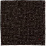 Isaia Men's Plain-Weave Pocket Square