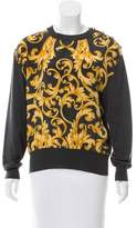 Salvatore Ferragamo Abstract Print Wool Sweater