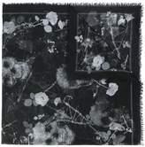 Alexander McQueen Roses & Bones scarf