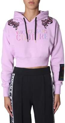 Versace cropped sweatshirt