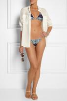 Vix Swimwear Vix Inga tie-dye bikini briefs