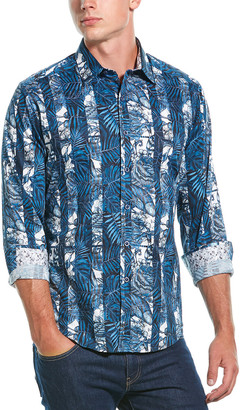 Robert Graham Thurston Classic Fit Woven Shirt