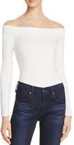 GUESS Ellija Off-The-Shoulder Bodysuit