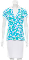Bogner Printed Polo Top w/ Tags