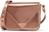 Alexander Wang Prisma mini metallic patent-leather shoulder bag