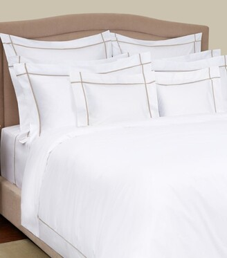 Yves Delorme Athena Pierre Square Pillowcase (65cm x 65cm)