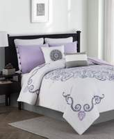 Jessica Sanders Huntley Reversible 8-Pc. Queen Comforter Set