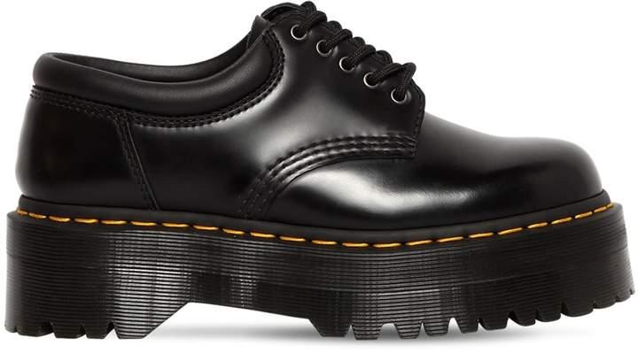 Dr. Martens 40mm Quad Leather Lace-up Shoes