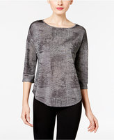 INC International Concepts Knit Top, Only at Macy's