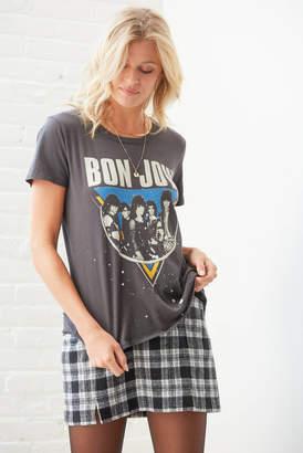 Chaser Bon Jovi Graphic Tee Grey XS