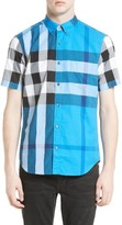 Burberry Men's Fred Check Sport Shirt