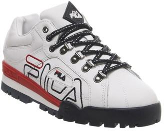 Fila Trail Blazer Trainers White Navy Red F