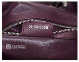 Christian Dior Bordeaux Lady Soft Shopper Tote Bag