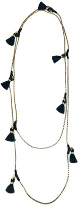 Slate & Salt Ananya Tassel Necklace