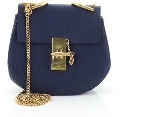 Chloé Drew Crossbody Bag Leather Mini