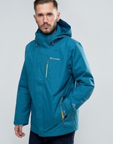 Columbia Element Blocker Jacket Detatchable Hood & Insulated Liner