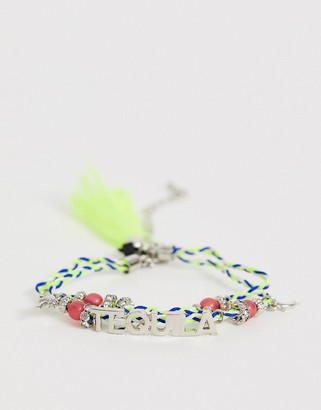 Skinnydip Skinny Dip Silver Tequila Charm Bracelet-Multi
