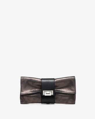 Express Joanna Maxham Leather Nite Cap Bag