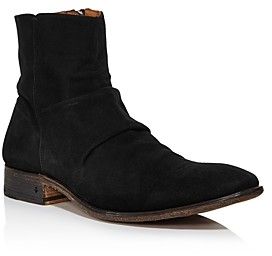 John Varvatos Collection Men's Morrison Sharpei Suede Boots
