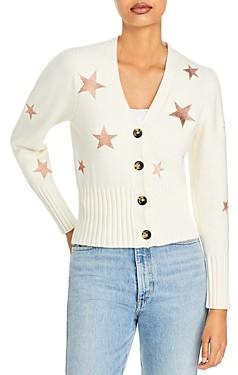 Cinq à Sept Morgan Star Embroidered Cardigan