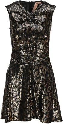 N°21 N21 Leopard Motif Sequins Dress