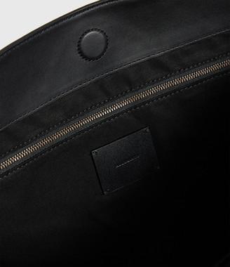 AllSaints Nina Stud North South Leather Tote Bag