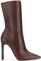 Yeezy Season 7 square toe boots