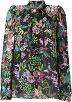 Just Cavalli - blouse à fleurs