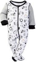 Boppy Animals & Letters Doodle Sleep 'N' Play Footie (Baby Boys)